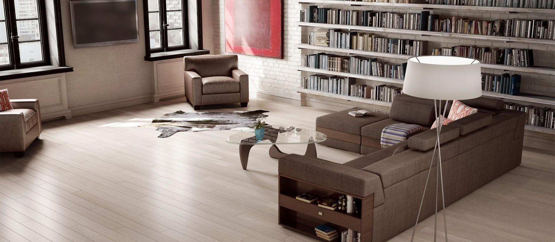 Beautiful refinished floors!