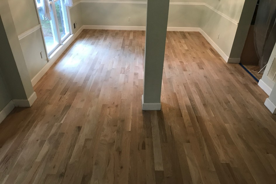 Beautiful Refinished Hardwood Floors!!