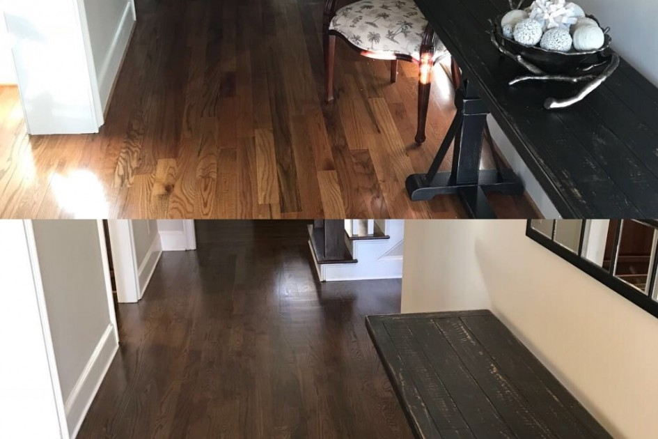 Before/After Floor Refish