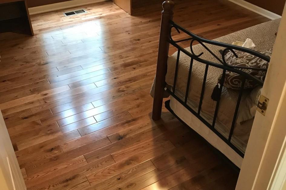 Solid Hardwood Pre- Finished