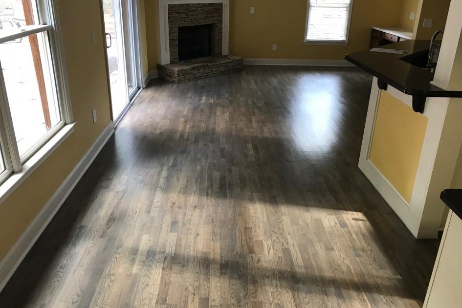 Hardwood Refinished